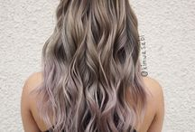 Color Hair Soft and Metalic
