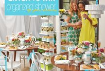 The Organized Shower / My Wedding shower would combined my Favorite things in Nature.  The woods  and the ocean.  I would have a little of everything.  Here is what my wedding shower would look like!