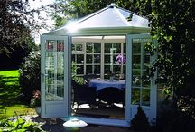 PVCu Summerhouses / A selection of our Nordic range of PVCu Summerhouses