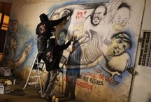 Nairobi graffiti artists paint protests |  Kenyan activists spray angry graphics to provoke political action