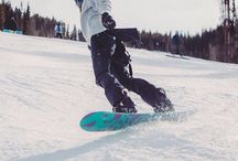 Snow love / Snowboarding and skiing