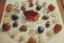 Crystal Grids / To assist you with healing your soul and attracting the energy you need in your life <3