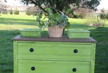 Blackboards Furniture Co. / https://www.facebook.com/BlackboardsFurnitureCo  Custom painted furniture using American Paint Company Chalk Paint.  Furniture is available at Annie Thingz in St. Thomas, ON.   / by Lauraine Power