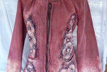 ručně malované oblečení