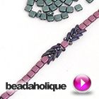 2-HOLE SQUARE BEADS
