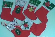 botas de natal
