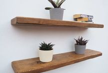 Create functional and beautiful storage with floating shelves