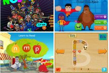 Literacy Apps / Apps related to reading, books, and all thing literacy.