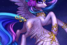 мой великолепный пони  принцессы и рисовки