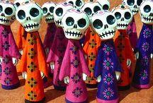 Dia de los Muertos / #DayoftheDead #mexico #mexican #tradition #folk #BookofLife