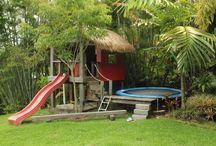 Playscapes / Child friendly garden ideas