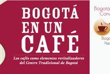 Bogotá en un café