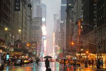 Deštivé dny v New Yorku