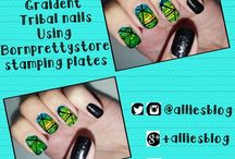 Nail art tutorials / nail art tutorials from my youtube channel