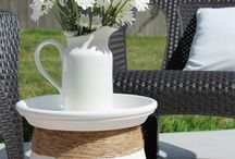 Outdoor Decor for Spring! / Spring forward with outdoor decor that'll get you ready for summer and warm weather!