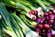 Fresh vegetable photography
