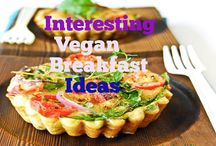 Plant Based Breakfast Recipes / To get off to a great start for the day..be prepared with a great family breakfast!