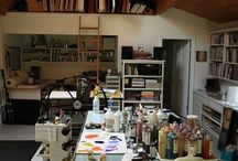 My dream studio / Ideas and inspiration for the studio I probably never will get