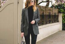 grey jacket styling