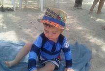 Disfrutando de la arena!!!