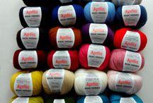 Katia - Marque de laine espagnole très beaux fils fantaisie / Tout laine à tricoter et fils à crocheter de la marque Katia