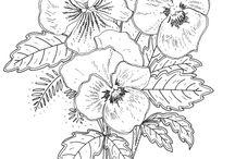 Çiçek desenleri