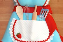 cooking theme cakes