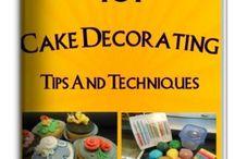 CAKE DECORATING TIPS / by Debbie Wilkinson