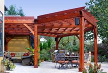 Timber frame Structures / Check out the variety of timber frame structures; pergolas, car ports, pavilions, and much more built by B&D Builders! For more pictures, visit www.custombarnbuilding.com