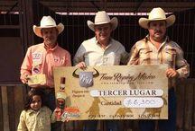 Lazada del Circuito Team Roping México. / Los mejores eventos, ganadores y participantes de la ganadores de la lazada del Circuito Team Roping México. #Caballos #Ganado #Vaqueros