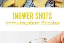 Ingwer shots
