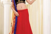Designer Embroidered Lehenga Choli / Searching for embroidered lehengas? This is the place for you. MishreeSaree.com, Indian ethnic clothing store is racked with finest collection of designer embroidered lehenga cholis. Get your favorite now from http://www.mishreesaree.com/Online/Lehengas
