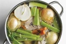Soups/stocks/seasonings / by Kristin Thompson