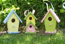 Bird Houses for Rent / by Rebecca Guyton