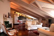 mansarda tetto sbiancato