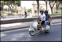 Vespa Tours of Rome...Once in the life! / Life is too short to not ride Vespa in Rome. Enjoy the Dearoma private guided Vespa Tours adventure.