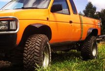 Nissan's / Nissan Trucks/SUVs of all kinds / by Daily Trucks