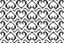 Fine mønster