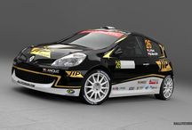 J. Plšek (Renault Clio R3) / Design and wrap - 2013.