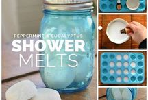 DIY Shower steamers & melts