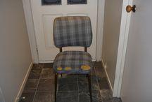 Chair restored / Not perfect - but better