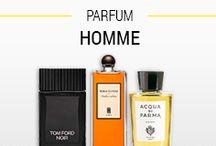 Parfums Homme / Comptoir de l'Homme vous propose un large choix de parfums de marque ! Fruitées, fleuries ou boisées, toutes les notes dont vous rêvez pour votre parfum se trouvent chez nous