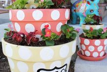 planters / by Danielle's Crafts N more