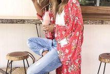 Oufits con kimonos