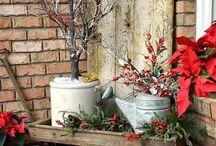 Navidad Eco / Decoraciones ecológicas de navidad.