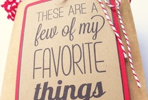 Favorite Things Party-Christmas / by Becky McGowan