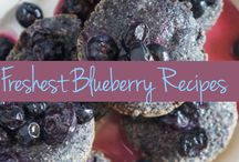 Be Blue! Blueberry Recipes / Now is the time to be blue - but in a good way! Head to the farmer's market and pick up a few pints of blueberries. We've got fun, fresh, and delish ideas on how to use them all, with a Latin spin. / by The Latin Kitchen