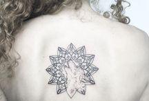 Mandala Tattoo / El mandala hecho tatuaje: un instrumento de contemplación mística en tu cuerpo.