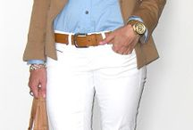 Outfits con saco beige