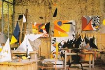 Artists and Art Collectors Homes